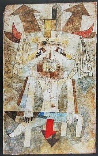 Paul Klee, Der wilde Mann, 50 X 76