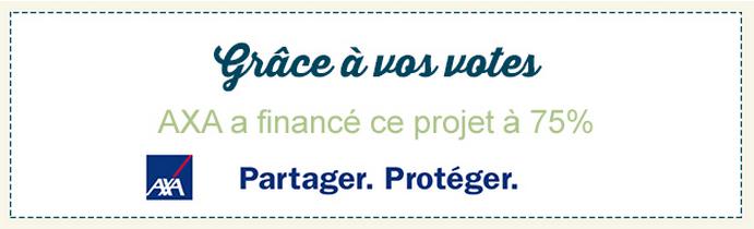 Campagne crowdfunding MyMajorCompany Axa France