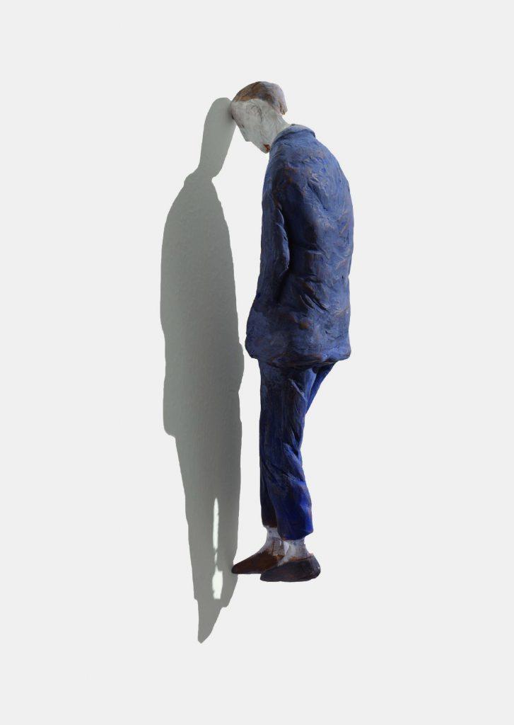 Pino Deodato, Pensatoio, sculpture, 2013. © Pino Deodato, 2013, courtesy Galerie Progettoart, e-elm, Milan, Art Paris Art Fair
