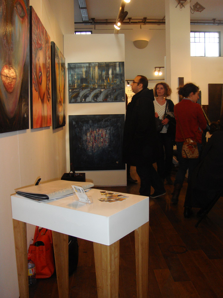 Grand Salon d'Art abordable la Bellevilloise - 2015