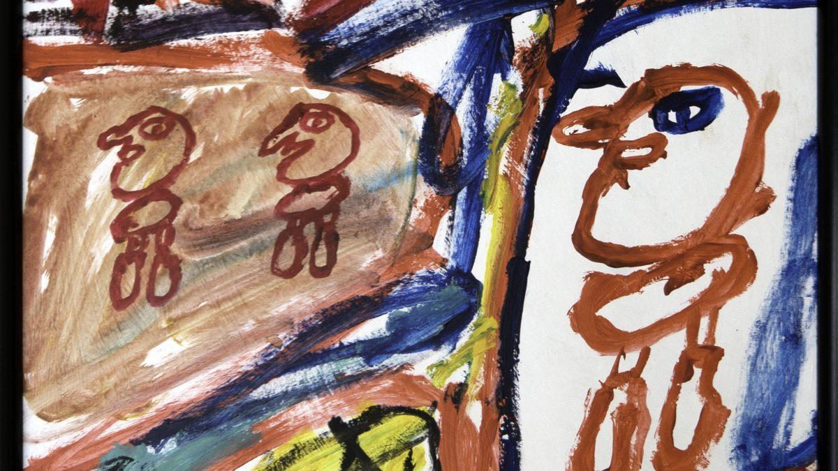 Jean Dubuffet et Gaston Chaissac : l'art «brute»