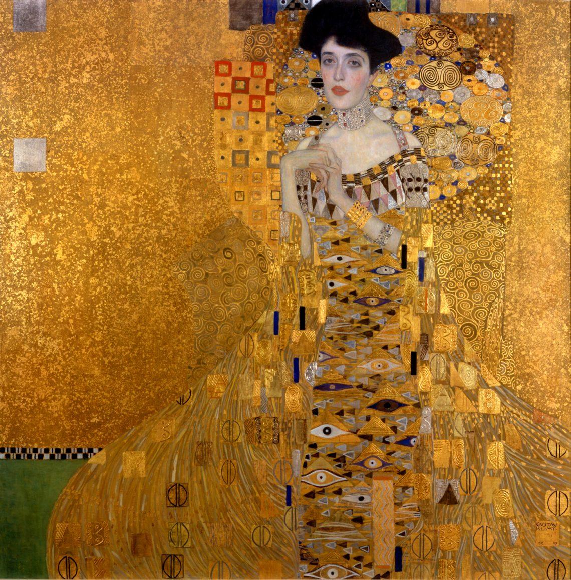 Klimt portrait of Adele Bloch-Bauer I