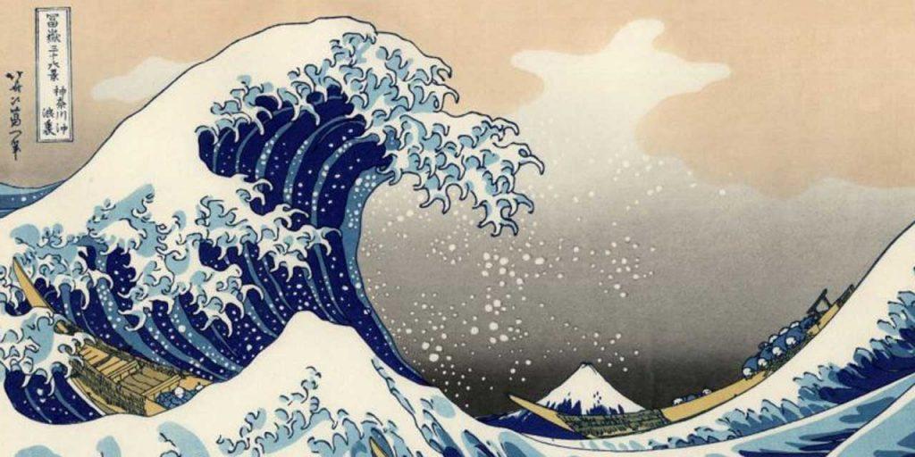 Hokusai, La grande vague de Kanagawa, 1831 - Ukiyo-e