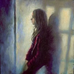 Patricia Neveu, Maud -01, technique mixte sur toile, n.r
