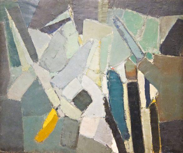 Nicolas de Stael, Rue Gauguet, 1949