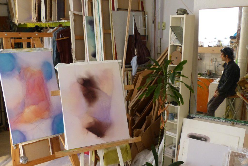 Atelier de Frédéric Belaubre