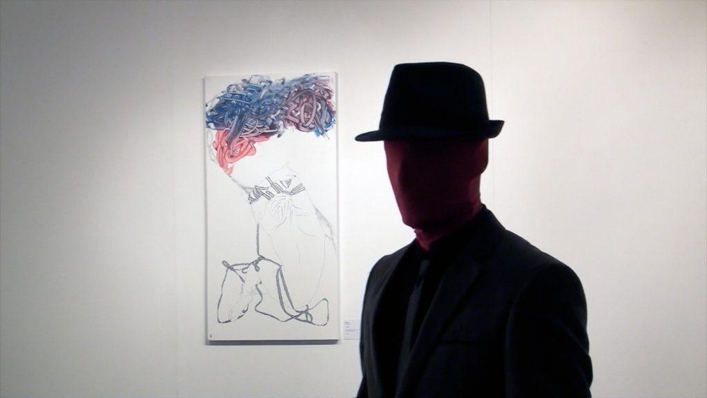 Autoportrait de l'artiste Piloro