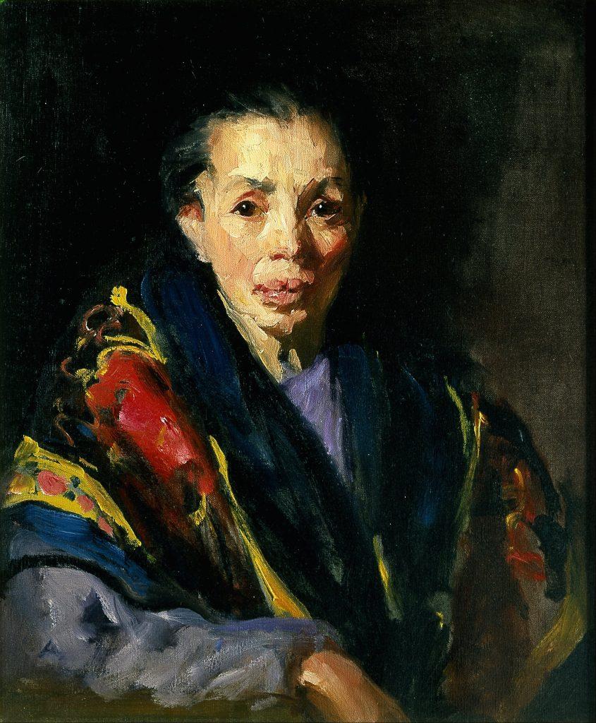 Robert Henri, The Old Model (Spanish woman), 1911-13