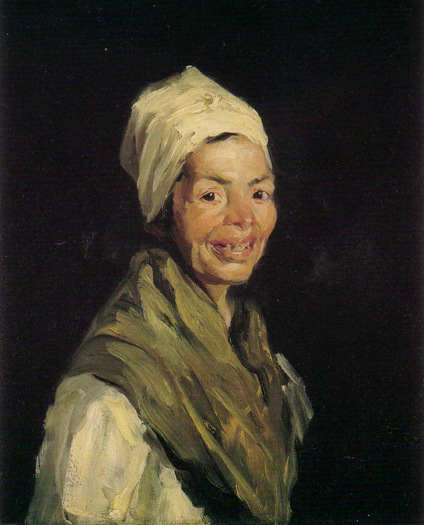Robert Henri, Celestina ,1908, huile sur toile, Hirshhorn Museum and Sculpture Garden, Washington