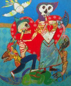 Jacky Chriqui, Amor à mort - collectionneur d'art