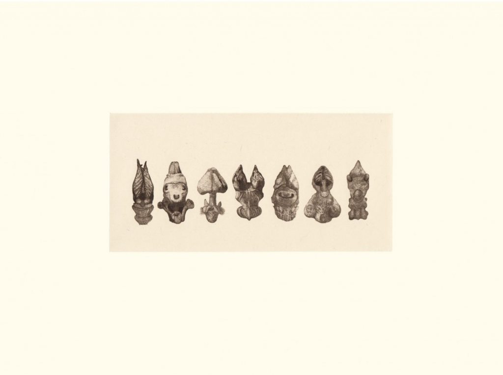 Thomas Fouque, les veilleurs de nuit, gravure sur papier, 30 x 40, tirage limité (30 ex.)