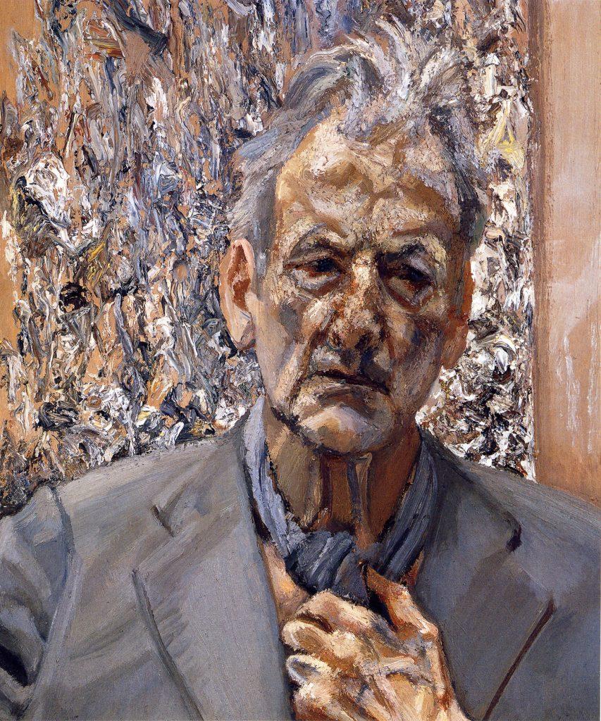 Lucian Freud, Autoportrait, reflet, 2002 (détail). Collection particulière. © Lucian Freud