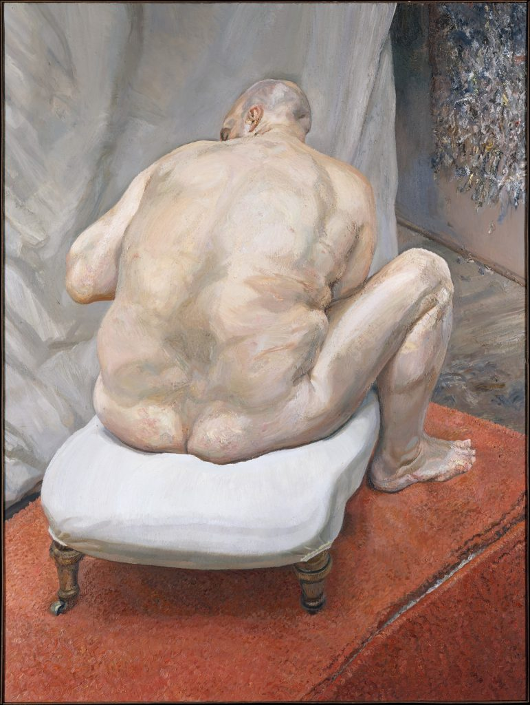 Lucian Freud, Naked Man, Back View 1991-92, © Lucian Freud