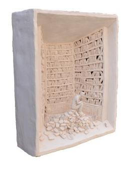 Pino Deodato, Chiodo fisso, sculpture, 2010 © Pino Deodato, 2010, courtesy Galerie Progettoarte-elm, Milan, Art Paris Art Fair