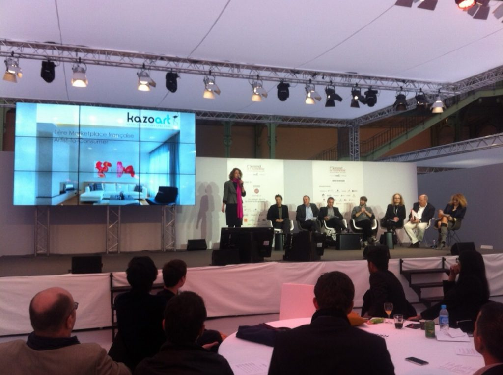 pitch Grand Palais concours de start-up KAZoART