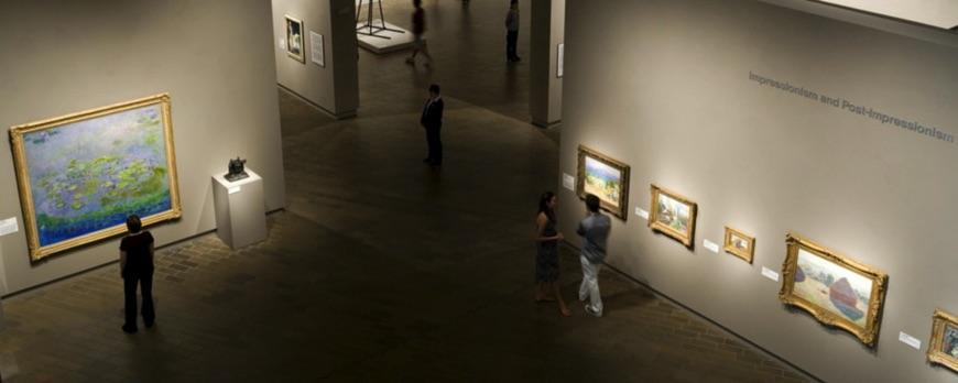slide proposition pour comment regarder une oeuvre d'art