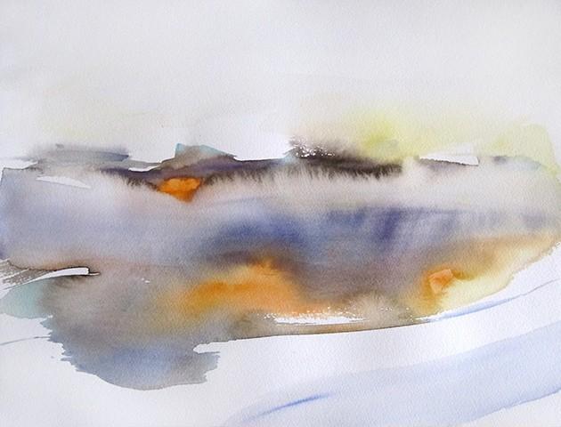 Après la pluie, Sylvia Baldeva, 32x41, aquarelle