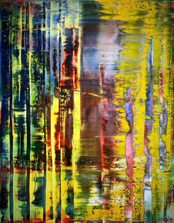 Gerhard Richter, abstraction