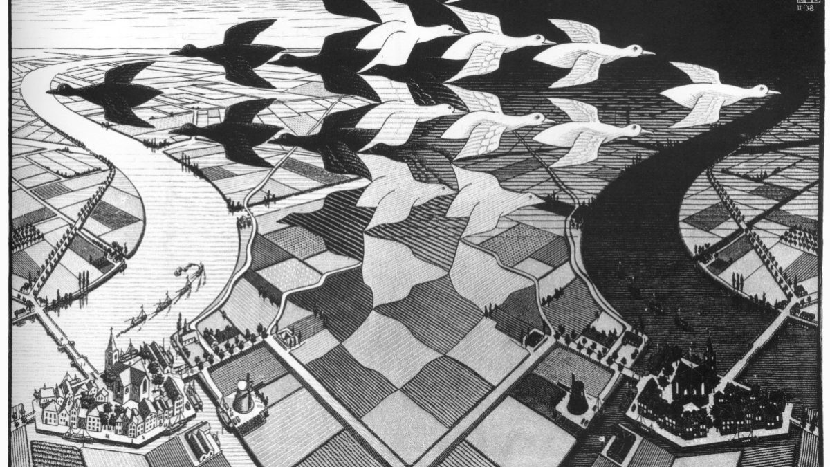 MC Escher : le dessinateur illusionniste