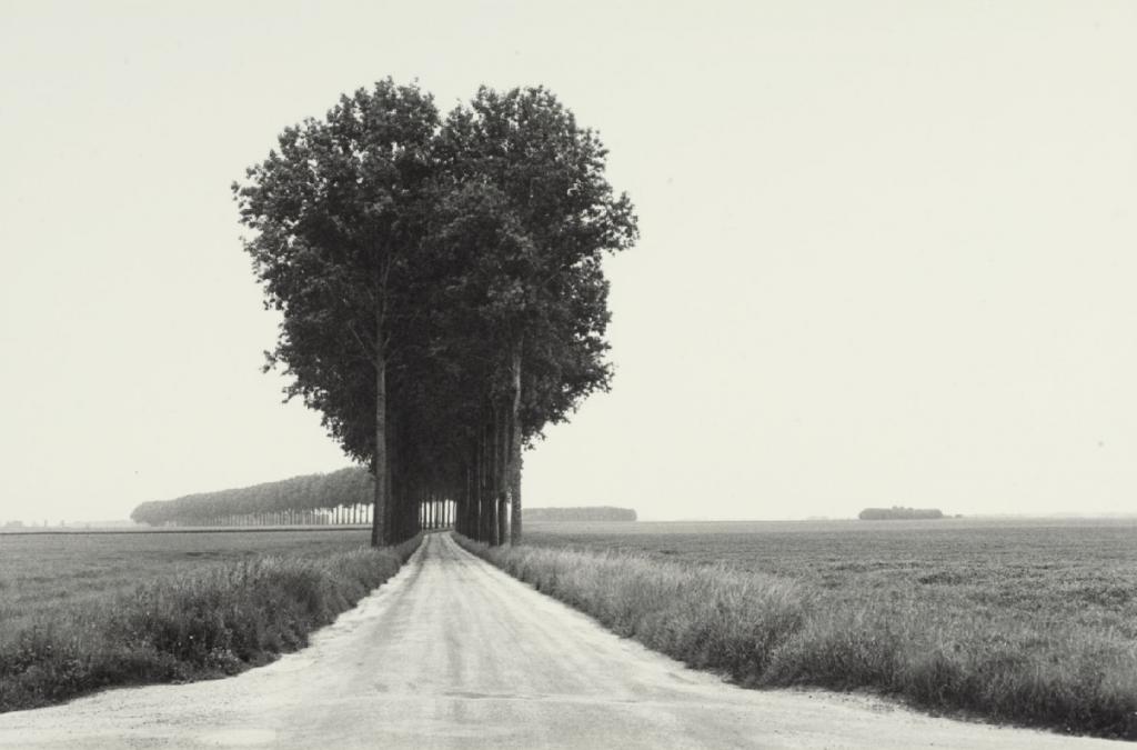 Henri Cartier-Bresson, en Brie, photographie