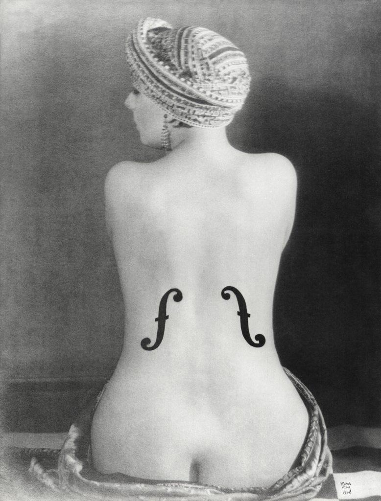 Man Ray, le violon d'Ingres, photographie, 1924