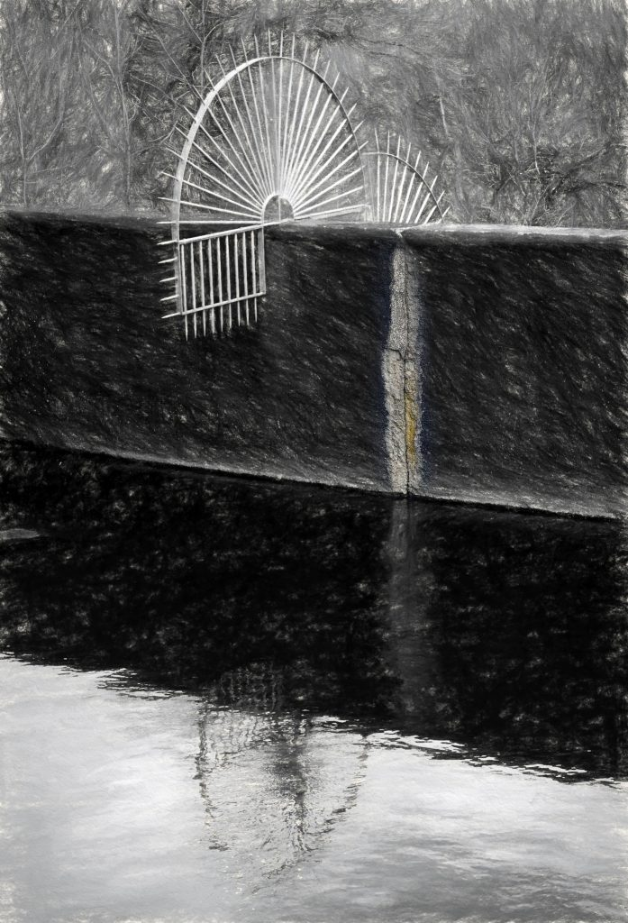 Lionel Morateur, Narcisse, 45 x 27 cm Photographie sur papier