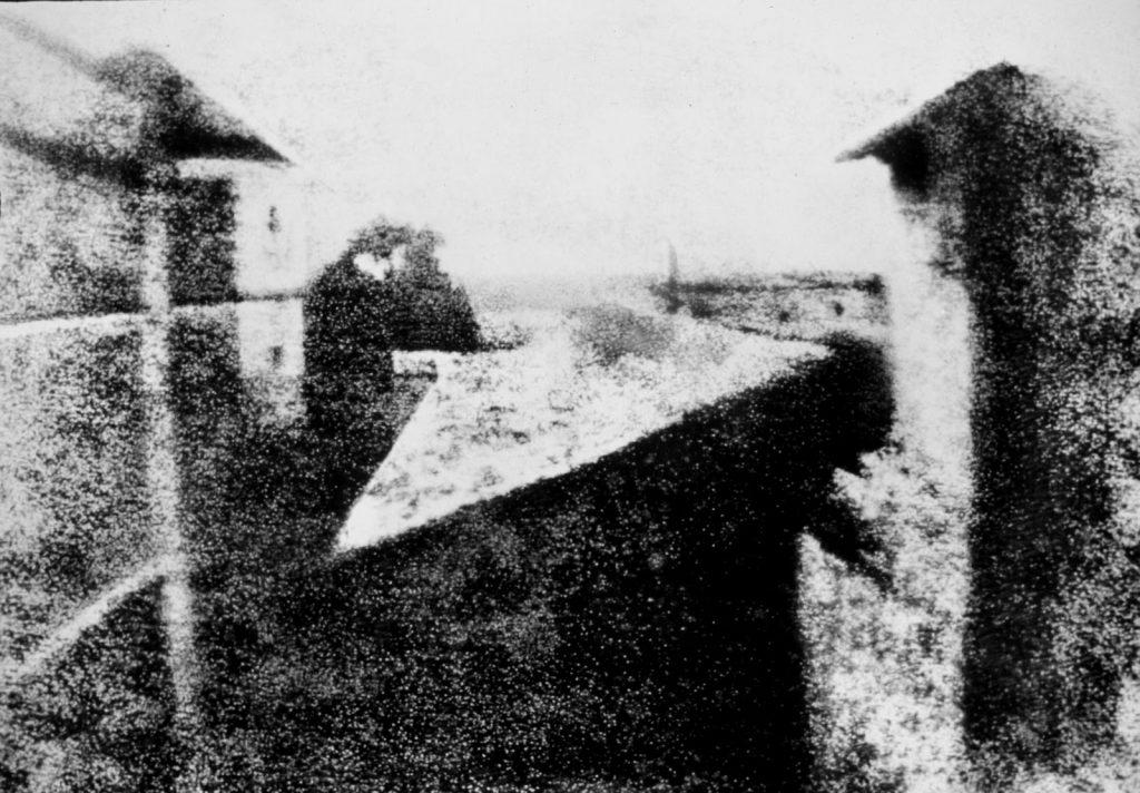 Nicéphore Niepce, Point de vue du Gras, 1827