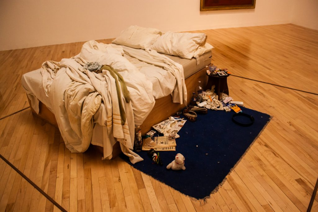 My Bed, Tracey Emin, Tate Britain, 1998