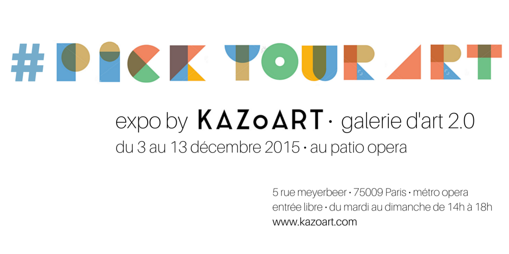 expo #PickYourART KAZoART