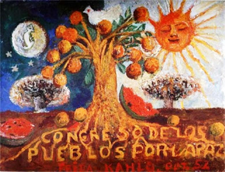 Congreso de los pueblos por la paz - Frida Kahlo - Hermione tumblr