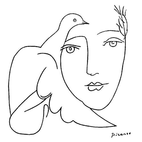 Le visage de la paix - Picasso - Pastis Bloguez