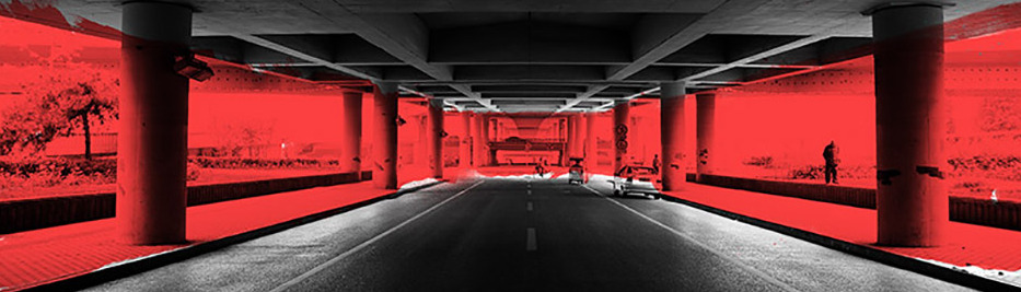 Under the highway 1- Laurent Allory