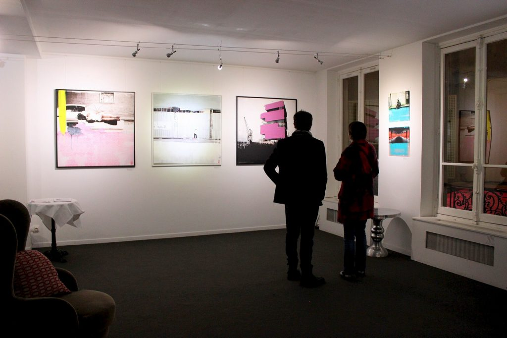 Oeuvres de Laurent Allory - Vernissage exposition #PickYourART