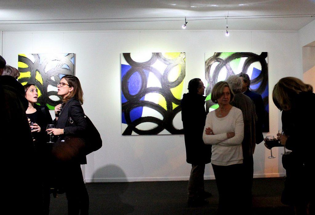 Oeuvres de Gérard Escougnou - Vernissage exposition #PickYourART