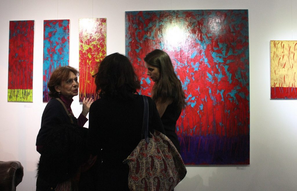 Claire Moog - Vernissage exposition #PickYourART