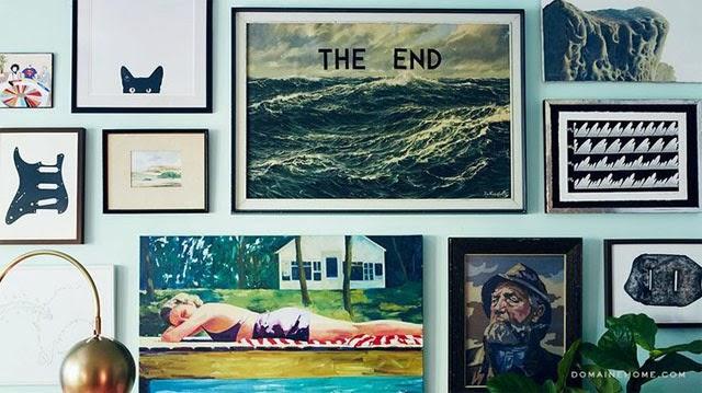 encadrer ou ne pas encadrer une oeuvre d 39 art le blog d art contemporain de kazoart. Black Bedroom Furniture Sets. Home Design Ideas