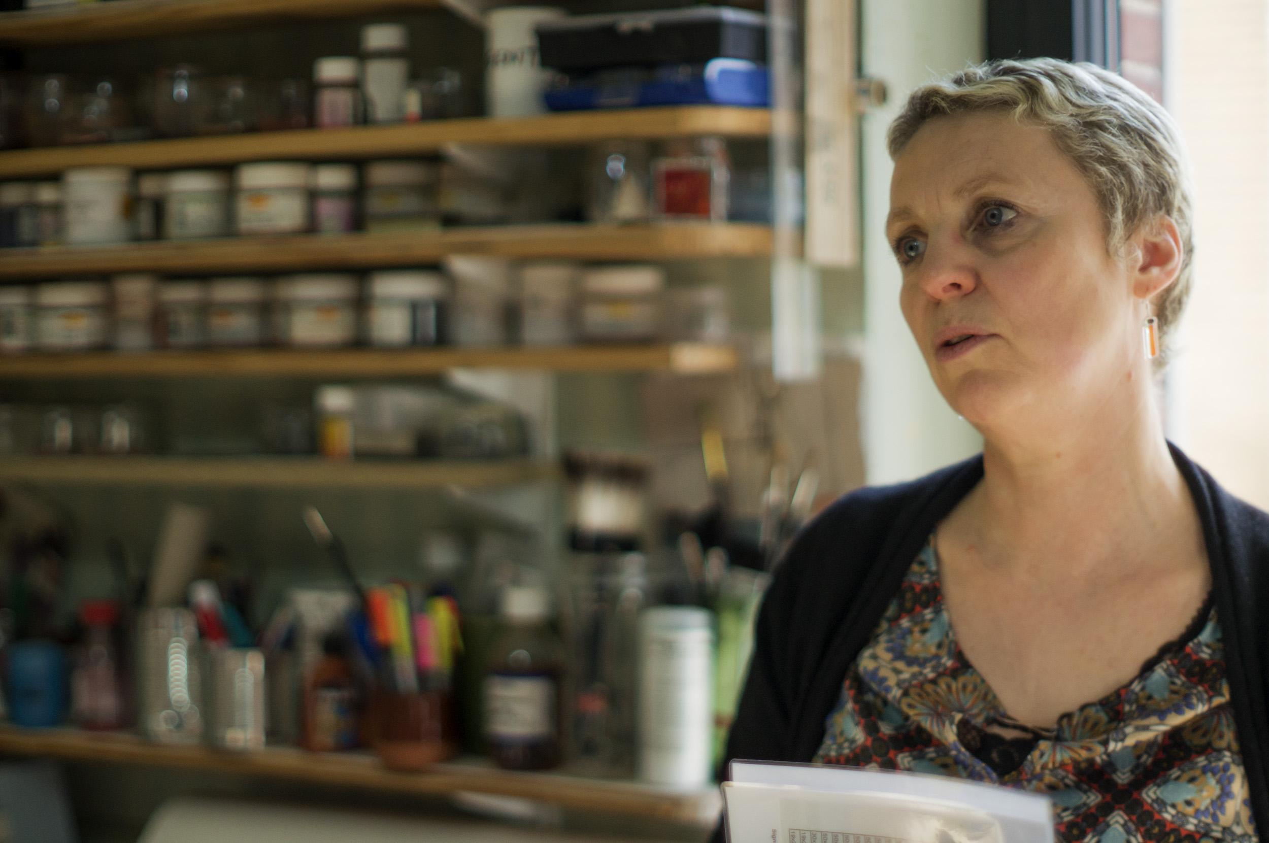 Nathalie Dumontier photographiée par Didier Leplat - KAZoART
