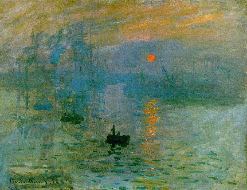 Claude Monet - Impression soleil levant - Blog Guillaume Loubet - KAZoART