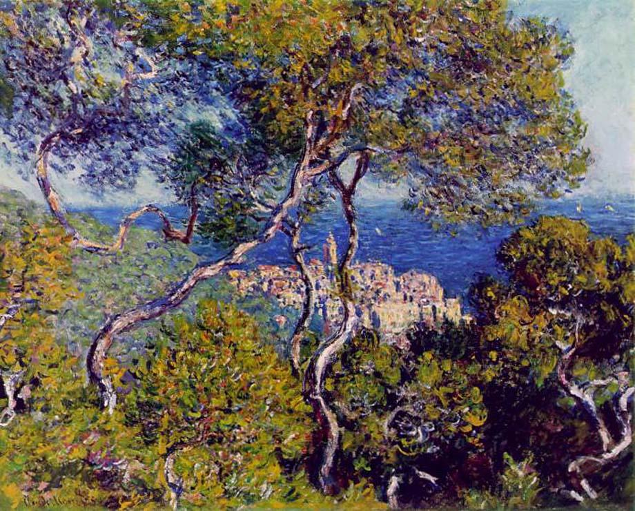 Paul Cézanne - Les Villas à Bordighera - Blog Guillaume Loubet - KAZoART