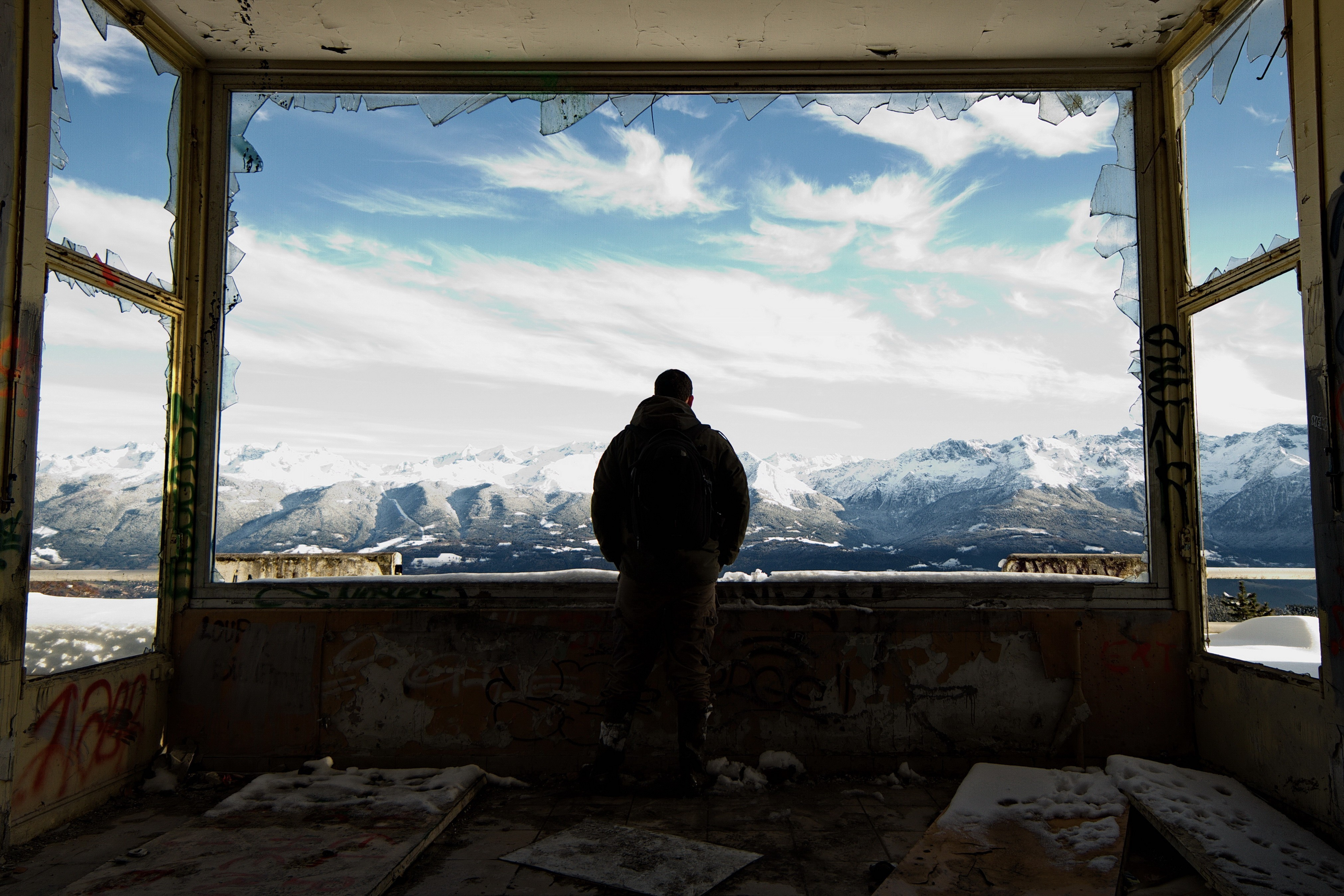 En montagne - Lauric Gourbal - KAZoART
