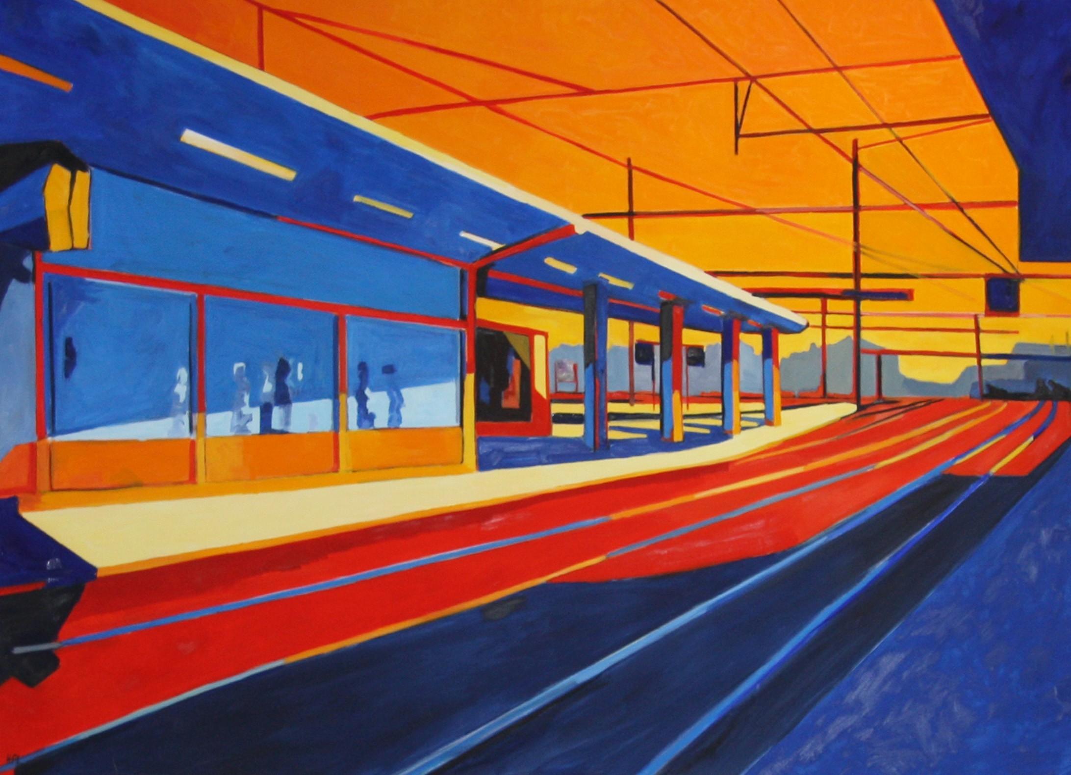 Gare des Chantiers - Hélène de Manneville - KAZoART