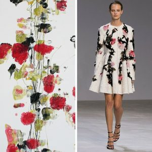 Sur le fil n°4 d'Adeline Gaffez chez KAZoART vs collection Giambattista Vali 2016