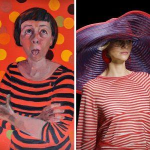 Et Alors ! d'Alexandra Chauchereau chez KAZoART vs collection Giorgio Armani 2016