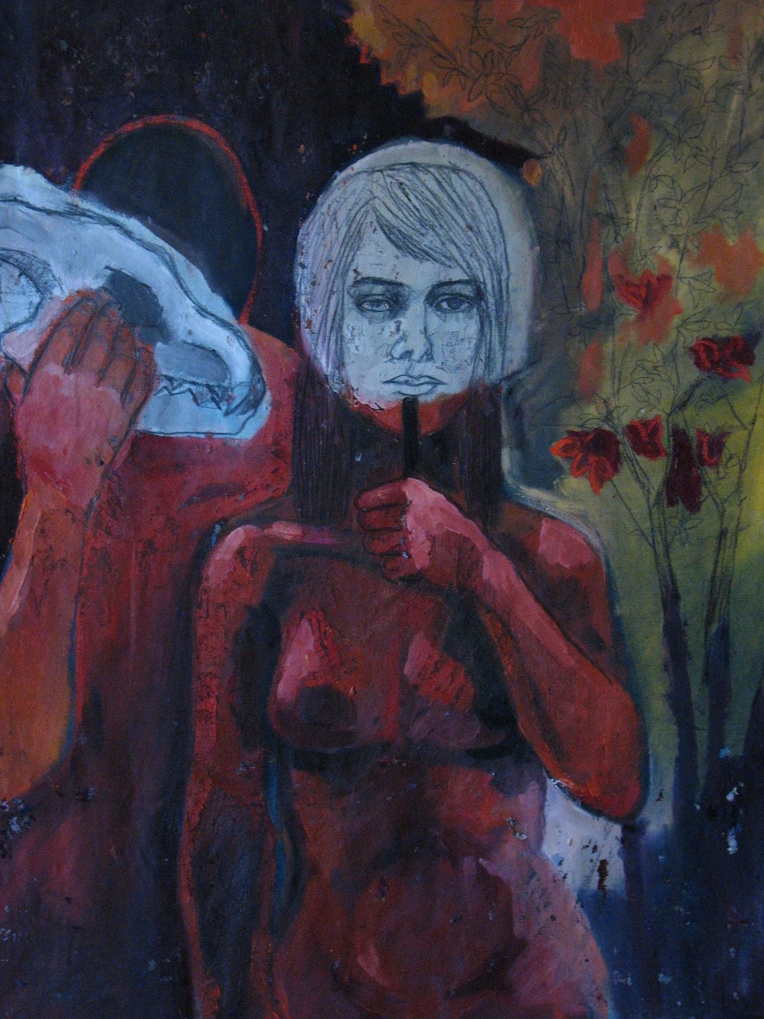 Le souffle derrière le masque - Emilie Lagarde - KAZoART