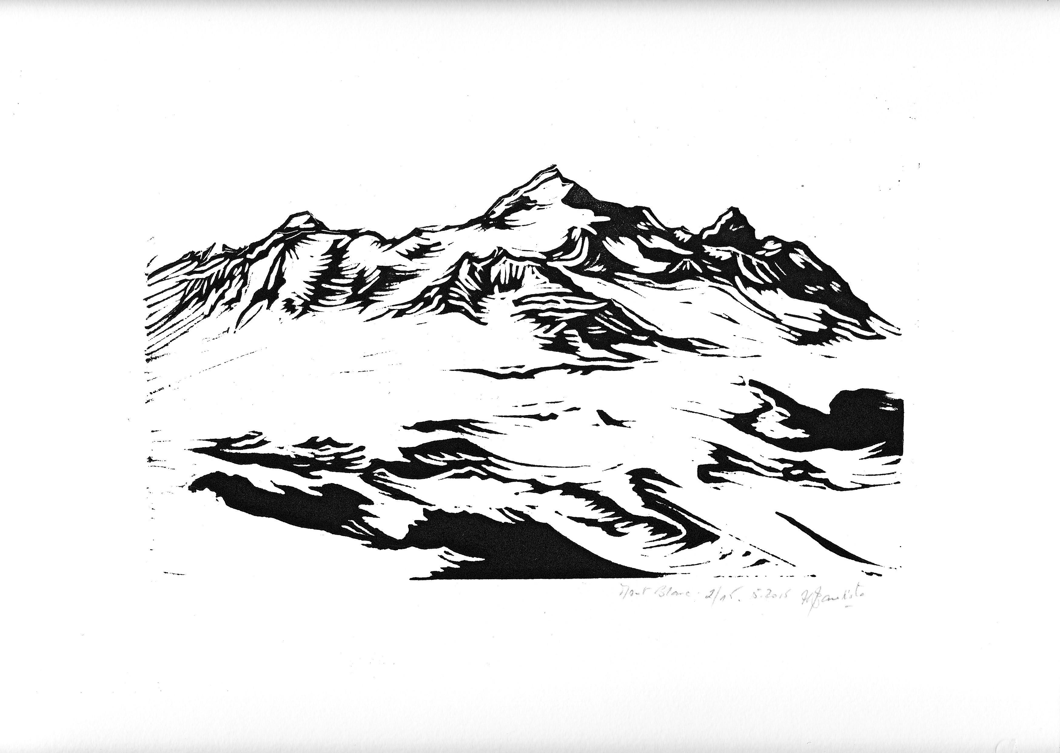 Mont Blanc - Hélène Bautista - KAZoART