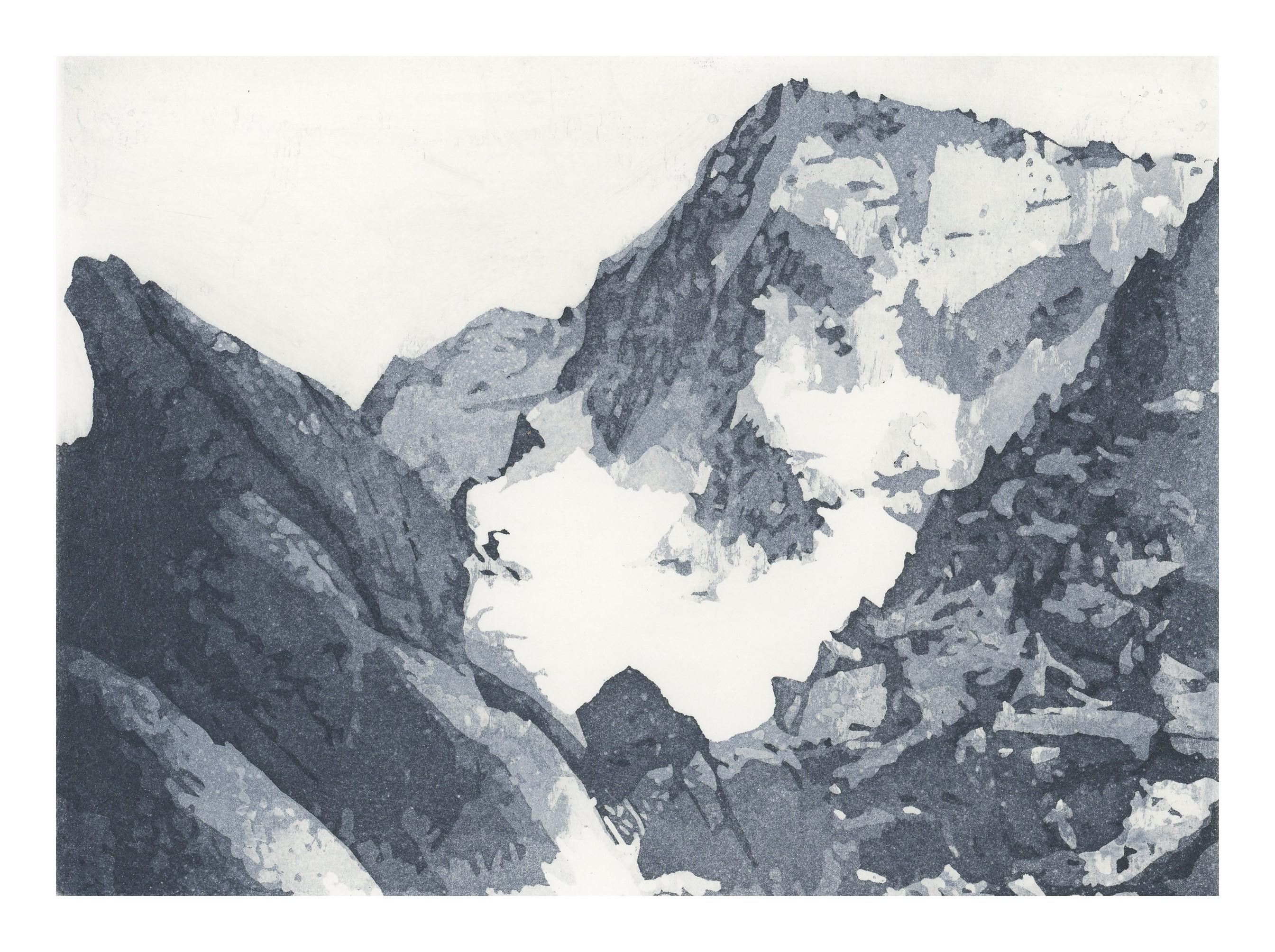 Montagnes II - Nicole Guézou