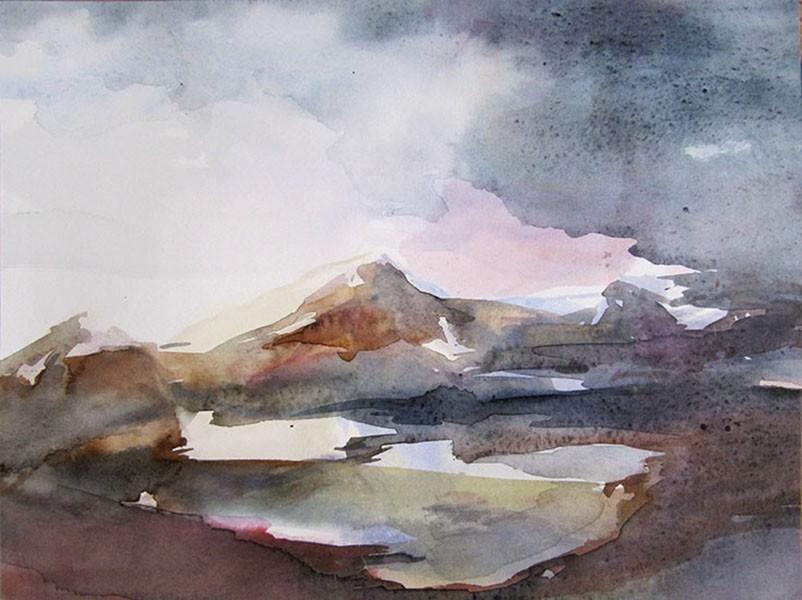 Montagnes - Sylvia Baldeva - KAZoART