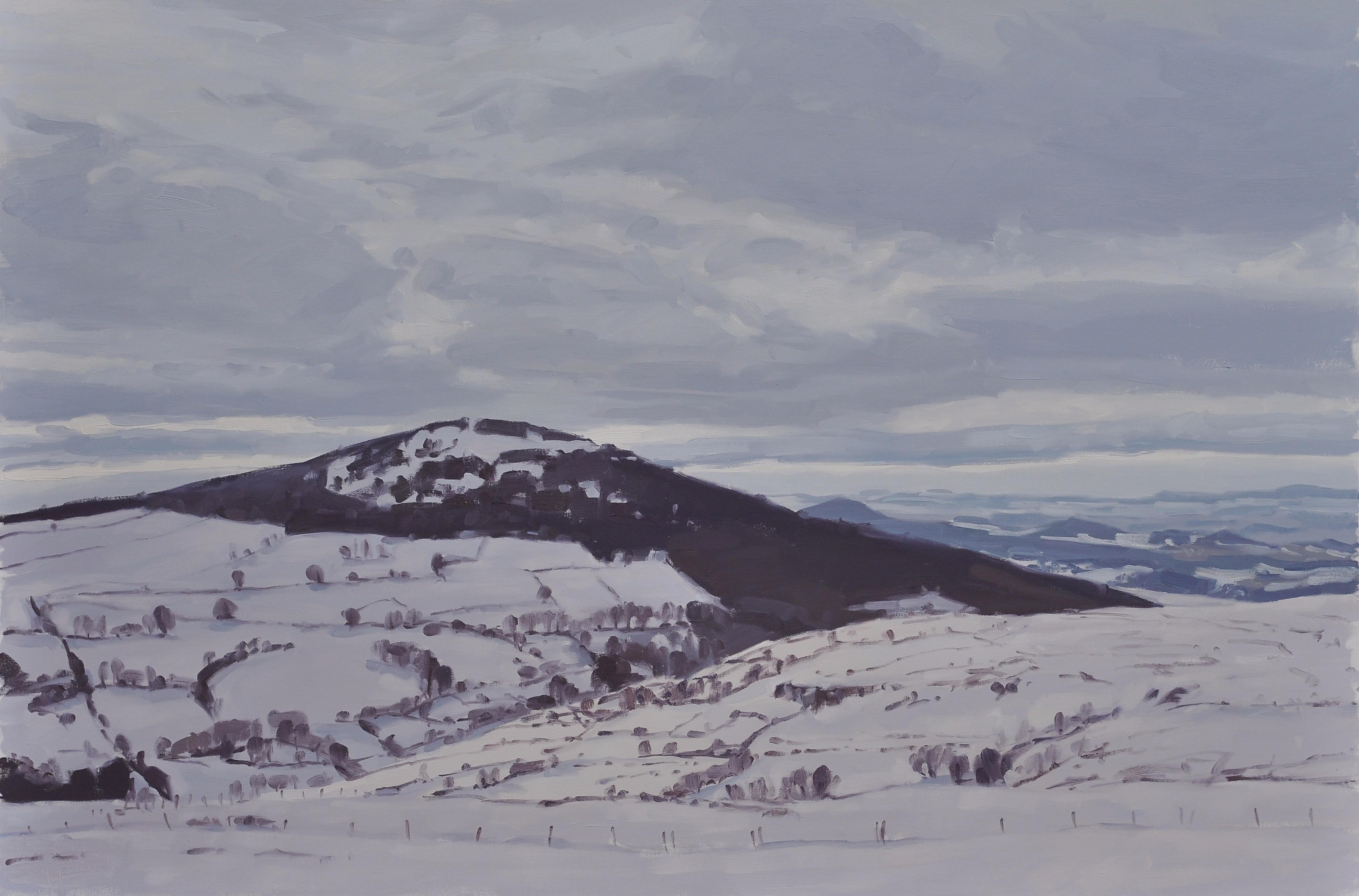 Neuf février, Massif du Mézenc - Anne Baudequin - KAZoART