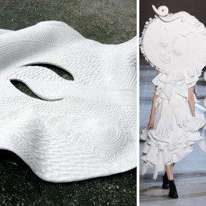 Sara-Soje Ha-Mo-N de Ceramichi chez KAZoART vs collection Victor & Rolf 2016