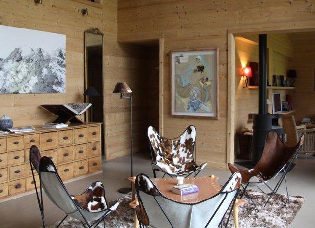 Ambiancearty vie de chalet le blog d art contemporain - Deco chalet montagne contemporain ...